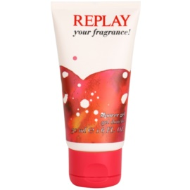 Replay Your Fragrance! For Her sprchový gel tester pro ženy 50 ml
