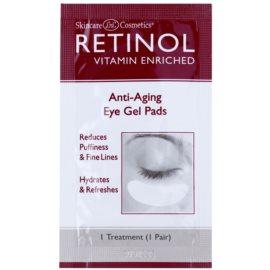 Retinol Anti-Aging oční gelové polštářky redukující otoky a jemné linky 2x 10 Ks