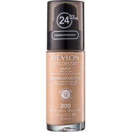 Revlon Cosmetics ColorStay™ Langaanhoudende Matt Make-up  SPF 15 Tint  300 Golden Beige 30 ml