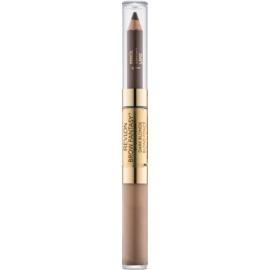 Revlon Cosmetics Brow Fantasy tužka a gel na obočí 2v1 odstín 104 Dark Blonde 1,18 ml