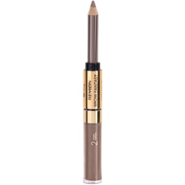 Revlon Cosmetics Brow Fantasy svinčnik in gel za obrvi 2v1 odtenek 104 Dark Blonde 1,18 ml