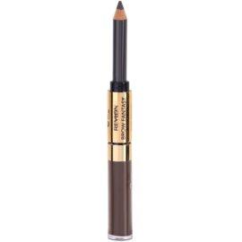 Revlon Cosmetics Brow Fantasy tužka a gel na obočí 2 v 1 odstín 106 Dark Brown 1,18 ml