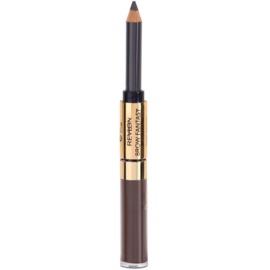 Revlon Cosmetics Brow Fantasy tužka a gel na obočí 2v1 odstín 106 Dark Brown 1,18 ml