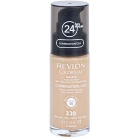 Revlon Cosmetics ColorStay™ maquillaje matificante de larga duración SPF 15 tono 330 Natural Tan 30 ml