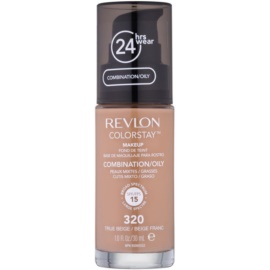 Revlon Cosmetics ColorStay™ tartós matt make-up SPF 15 árnyalat 320 True Beige 30 ml