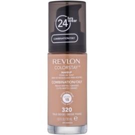 Revlon Cosmetics ColorStay™ maquillaje matificante de larga duración SPF 15 tono 320 True Beige 30 ml