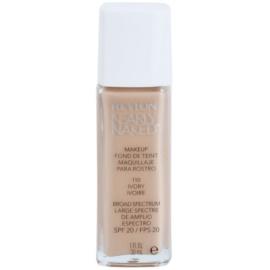 Revlon Cosmetics Nearly Naked™ tekutý make-up pro nahé líčení odstín 110 Ivory (SPF 20) 30 ml