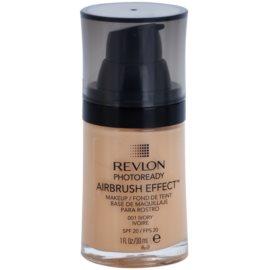 Revlon Cosmetics Photoready Airbrush Effect™ tekoči puder SPF 20 odtenek 001 Ivory 30 ml