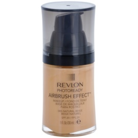 Revlon Cosmetics Photoready Airbrush Effect™ tekoči puder SPF 20 odtenek 005 Natural Beige 30 ml