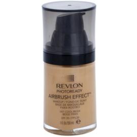 Revlon Cosmetics Photoready Airbrush Effect™ make up lichid  SPF 20 culoare 007 Cool Beige 30 ml