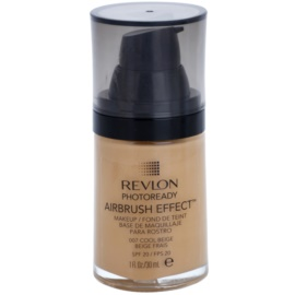 Revlon Cosmetics Photoready Airbrush Effect™ maquillaje líquido SPF 20 tono 007 Cool Beige 30 ml