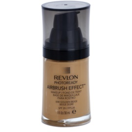 Revlon Cosmetics Photoready Airbrush Effect™ maquillaje líquido SPF 20 tono 008 Golden Beige 30 ml