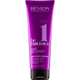 Revlon Professional Be Fabulous Hair Recovery oczyszczający szampon z efektem otwierania łuski włosa  250 ml