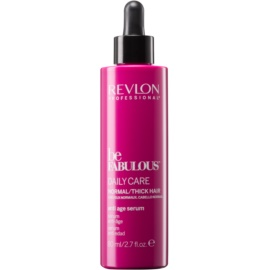 Revlon Professional Be Fabulous Daily Care hidratáló és fényerõsítõ szérum az öregedõ haj tünetei ellen  80 ml