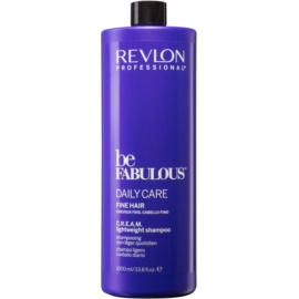 Revlon Professional Be Fabulous Daily Care šampon za volumen tankih las   1000 ml