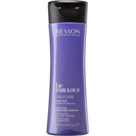 Revlon Professional Be Fabulous Daily Care šampon za volumen tankih las   250 ml