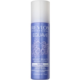Revlon Professional Equave Blonde bezoplachový kondicionér ve spreji pro blond vlasy  200 ml