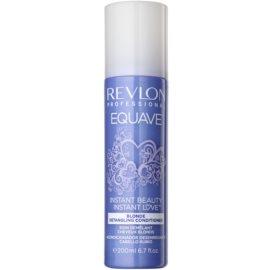 Revlon Professional Equave Blonde незмивний кондиціонер у формі спрею для освітленого волосся  200 мл