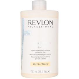 Revlon Professional Interactives Hydra Rescue maska pro suché a poškozené vlasy  750 ml