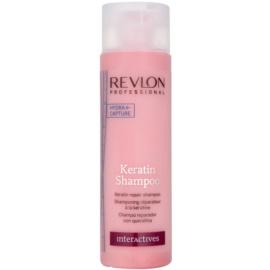 Revlon Professional Interactives Keratin keratinový regenerační šampon  250 ml
