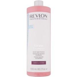 Revlon Professional Interactives Keratin keratinový regenerační šampon  1250 ml