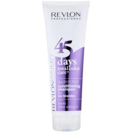 Revlon Professional Revlonissimo Color Care Shampoo en Conditioner 2in1  voor Koude Blond Tinten  Suflaat Vrij   275 ml