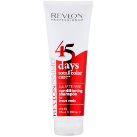 Revlon Professional Revlonissimo Color Care szampon i odżywka 2-w-1 dla czerwonych odcieni włosów bez siarczanów  275 ml