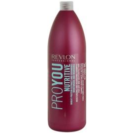 Revlon Professional Pro You Nutritive champô para cabelo seco  1000 ml