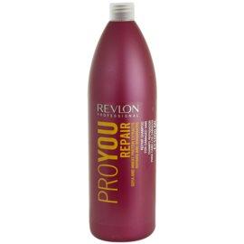 Revlon Professional Pro You Repair champô para cabelos danificados e quimicamente tratados  1000 ml