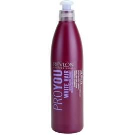 Revlon Professional Pro You White Hair šampon za blond in sive lase  350 ml