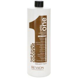 Revlon Professional Uniq One All In One Coconut posilující šampon pro všechny typy vlasů  1000 ml