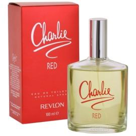 Revlon Charlie Red eau de toilette nőknek 100 ml