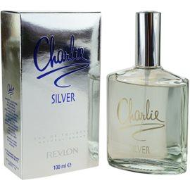 Revlon Charlie Silver eau de toilette per donna 100 ml