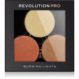 Revolution PRO Refill rozjasňovače pre vloženie do paletky odtieň Burning Lights 6 g