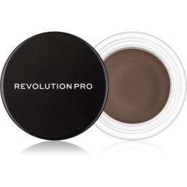 Revolution PRO Brow Pomade pomada za obrvi odtenek Dark Brown 2,5 g