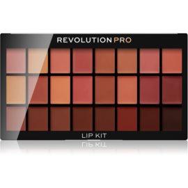 Revolution PRO Lip Kit paleta rtěnek odstín Naked 12 g