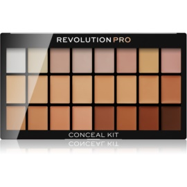 Revolution PRO Conceal Kit paleta korektorjev odtenek Light/ Medium 12 g