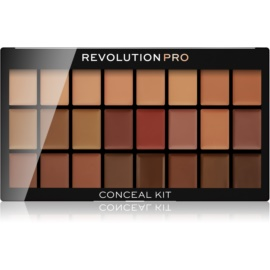 Revolution PRO Conceal Kit paleta korektorjev odtenek Medium/Dark 12 g