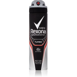 Rexona Adrenaline Turbo antiperspirant ve spreji 48h  150 ml