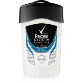 Rexona Maximum Protection Clean Scent kremowy antyperspirant (48 h) 45 ml
