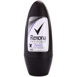Rexona Invisible Black + White Diamond antiperspirant roll-on  50 ml