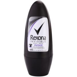 Rexona Invisible Black + White Diamond golyós dezodor roll-on  50 ml