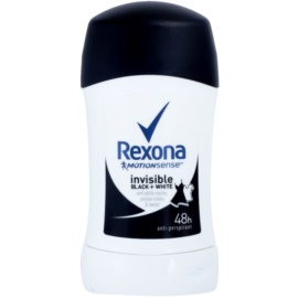 Rexona Invisible Black + White Diamond tuhý antiperspitant 48h  40 ml