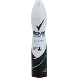 Rexona Invisible Aqua spray anti-perspirant  250 ml