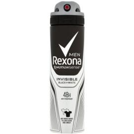 Rexona Invisible Black and White антиперспірант спрей 48 годин  150 мл