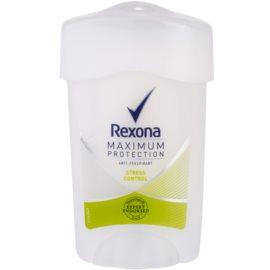 Rexona Maximum Protection Stress Control Antitranspirant-Creme 48h  45 ml