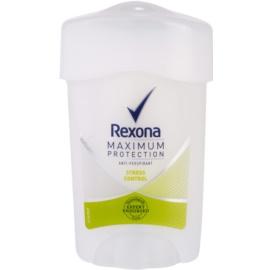 Rexona Maximum Protection Stress Control krémový antiperspirant 48h  45 ml