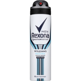 Rexona Williams Racing Limited Edition Antitranspirant-Spray für Herren  150 ml
