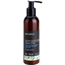 Rica Naturica Detoxifying Comfort detoxikáló peeling hajra egészséges fejbőrre  200 ml