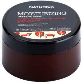 Rica Naturica Moisturizing Defense maska nawilżająca do ochrony koloru do włosów normalnych i suchych  250 ml